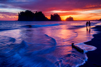 2016: Sunset at First Beach, La Push, WA