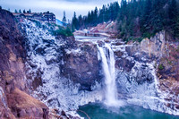 2017: Snoqualmie Falls January